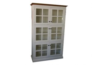 PORTLAND BOOKCASE WALL UNIT WITH GLASS DOORS