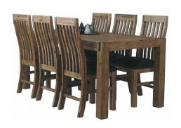 STERLING DINING SUITE 7 PCE 1800X900