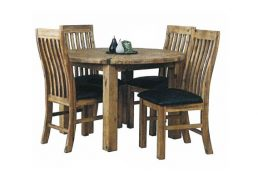 STERLING DINING SUITE 5 PCE 1200 ROUND