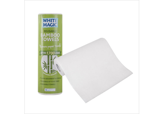 White Magic Bamboo Towel