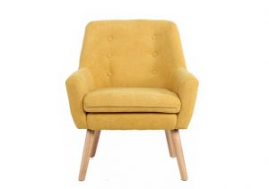ORION ACCENT CHAIR YELLOW