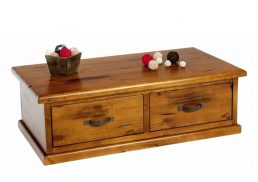 BRUNSWICK RUSTIC COFFEE TABLE 2 DRAWER