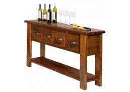 BRUNSWICK RUSTIC HALL TABLE