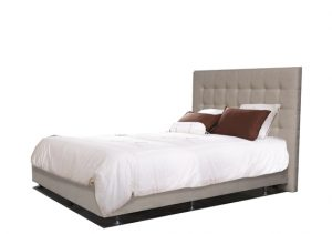 MATERIAL BED DIMPLE PADDED HEADBOARD