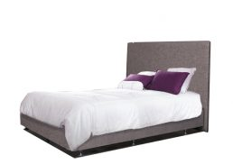 MATERIAL BED PLAIN PADDED HEADBOARD