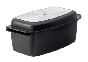 SCANPAN CLASSIC DUO DEEP ROASTING PAN WITH GRILL LID