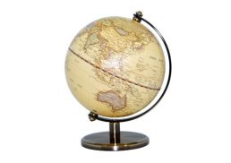 GLOBE 25CM ANTIQUE OCEAN LED