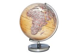 GLOBE 30CM ANTIQUE OCEAN LED