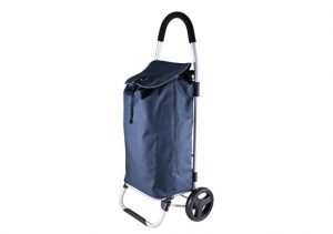 Karlster Shopping Trolley - Aluminum Frame Navy