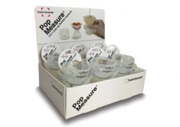 Fusion Brands PopMeasure Clear
