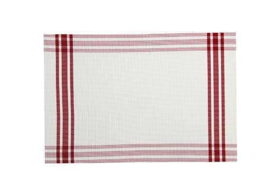 Wilkie Brothers Placemat Stuart Red