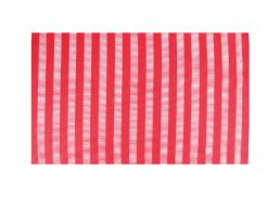 Wilkie Brothers Placemat Vertical Stripe Red
