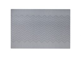 Wilkie Brothers Placemat Chevron Grey