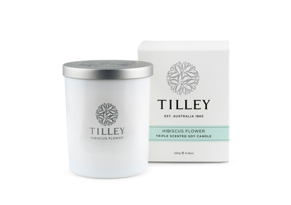 TILLEY - Soy Candle Hibiscus Flower