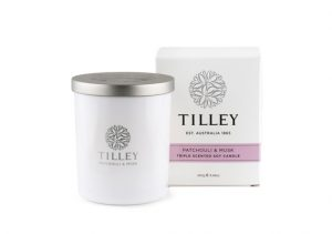 TILLEY - Soy Candle Patchouli & Musk