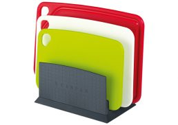 Scanpan Spectrum 4 Piece Cutting Board Set with Stand