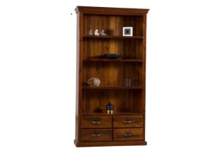 FITZROY BOOKCASE 4 DRAWER
