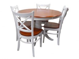 5PCE COASTAL DINING SETTING
