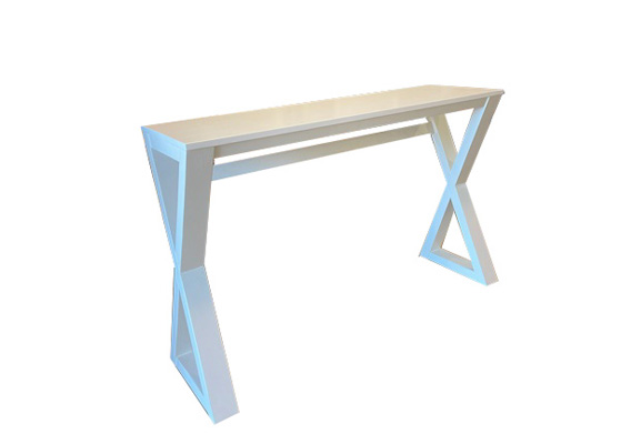 CROSS SMALL CONSOLE TABLE-NO DRAWER