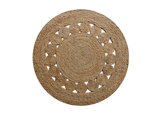 RUG FRENCH KNOT 1200 ROUND
