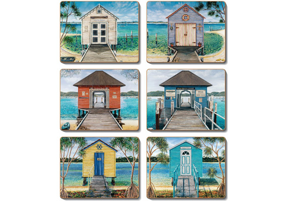 Cinnamon - Boathouses Placemats & Coasters