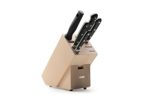 WUSTHOF CLASSIC - Knife block with 5 items