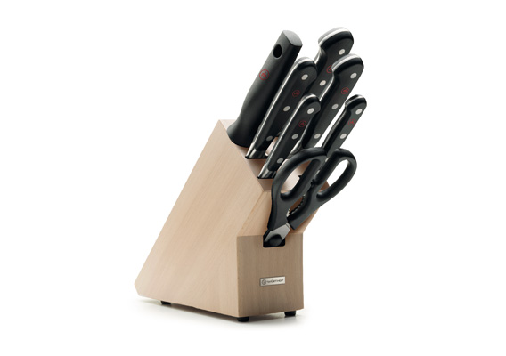 WUSTHOF CLASSIC - Knife block with 7 items