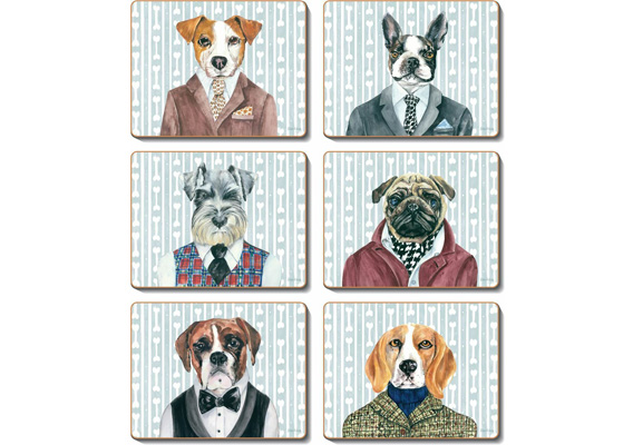 Cinnamon - Dogs Dinner Placemats & Coasters