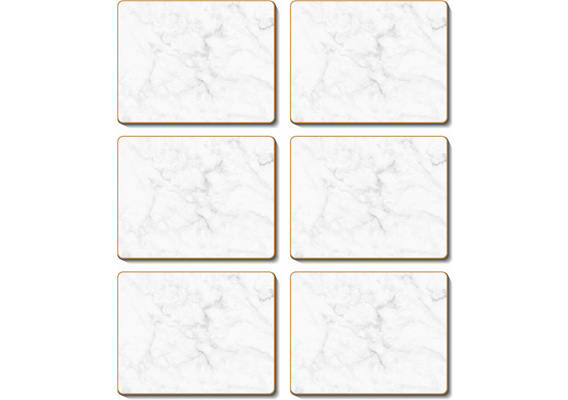 Cinnamon - Grey Marble Placemats & Coasters
