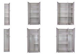 White Storage Pantries
