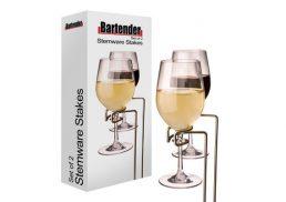 Bartender - Picnic Stemware Stakes Set2