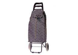 Shop & Go Mode Shopping Trolley Chevron Stripe