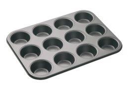 Bakemaster 12 Cup Muffin/Cupcake Pan 35 x 27cm - N/S