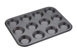 Bakemaster Crusty Bake 12 Cup Shallow Baking Pan 32 x 24cm