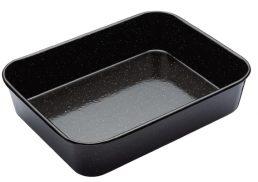 Bakemaster Professional Vitreous Enamel Roasting Pan 34 x 26 x 7cm