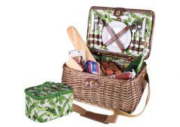 Avanti 4 Person Picnic Basket Tropical