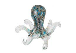 Coloured Glass Animal - Octopus 20x20x20cm