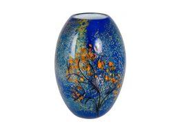 Coloured Glass Vase - Mondrian's Tree 16x16x26cm