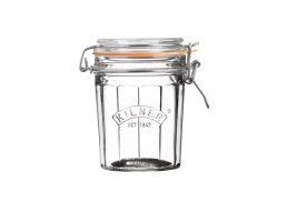 Kilner Facetted Clip Top Jar - 450ml