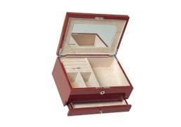Jewellery Box 1Drawer Walnut HR RB19W