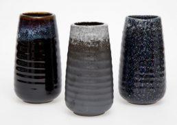 Japanese Kuro Large Vase