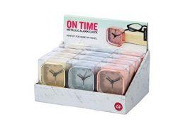 Alarm Clock On Time Metallic