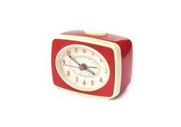 Alarm Clock Small Classic - RedAlarm Clock Small Classic - Red