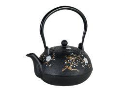 Avanti Cast Iron Teapot Blossom 1.1Lt
