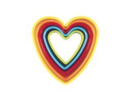 Avanti Heart Cookie Cutters Set of 5