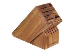 Peer Sorenson Knife Block 17 Slot Acacia Wood Empty