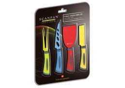 Scanpan Spectrum 4Pc Cheese Set