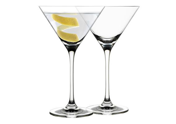 Ecology Classic Set of 4 Martini Glasses 210ml