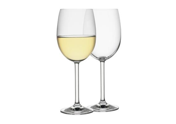 Ecology Classic Set of 6 White Wine Glasses 350ml