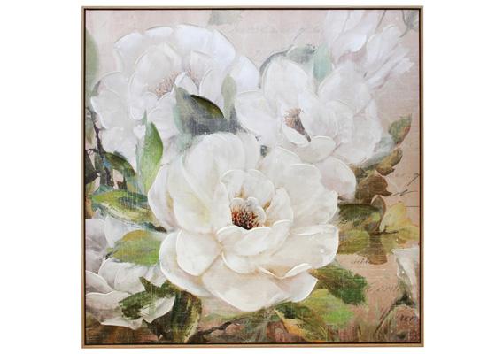 Wall Art - Canvas White Camellias